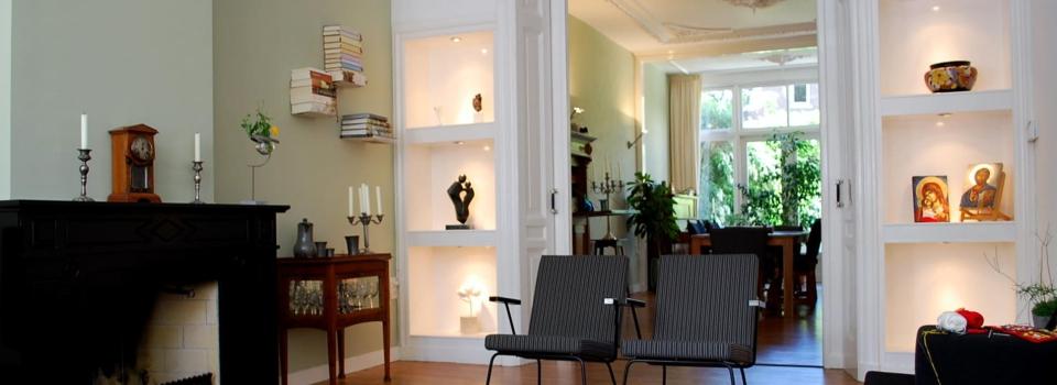 Lichte huiskamer Den Haag