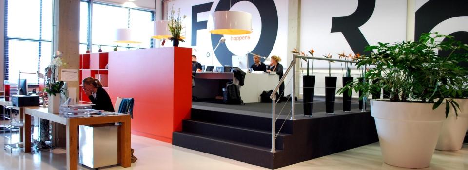 Interieurontwerp workspaces Den Haag
