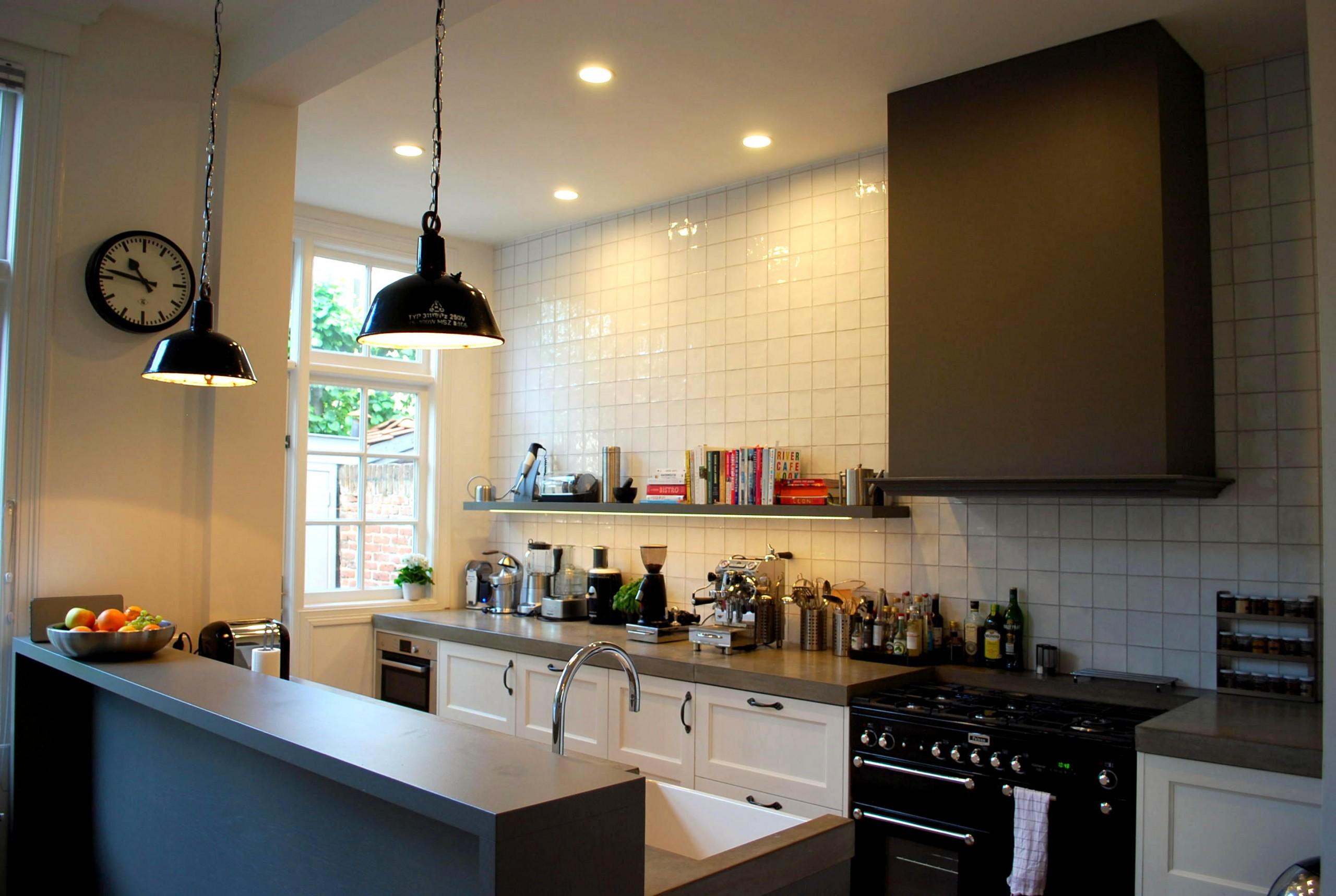 Interieurontwerp keuken, herenhuis Den Haag