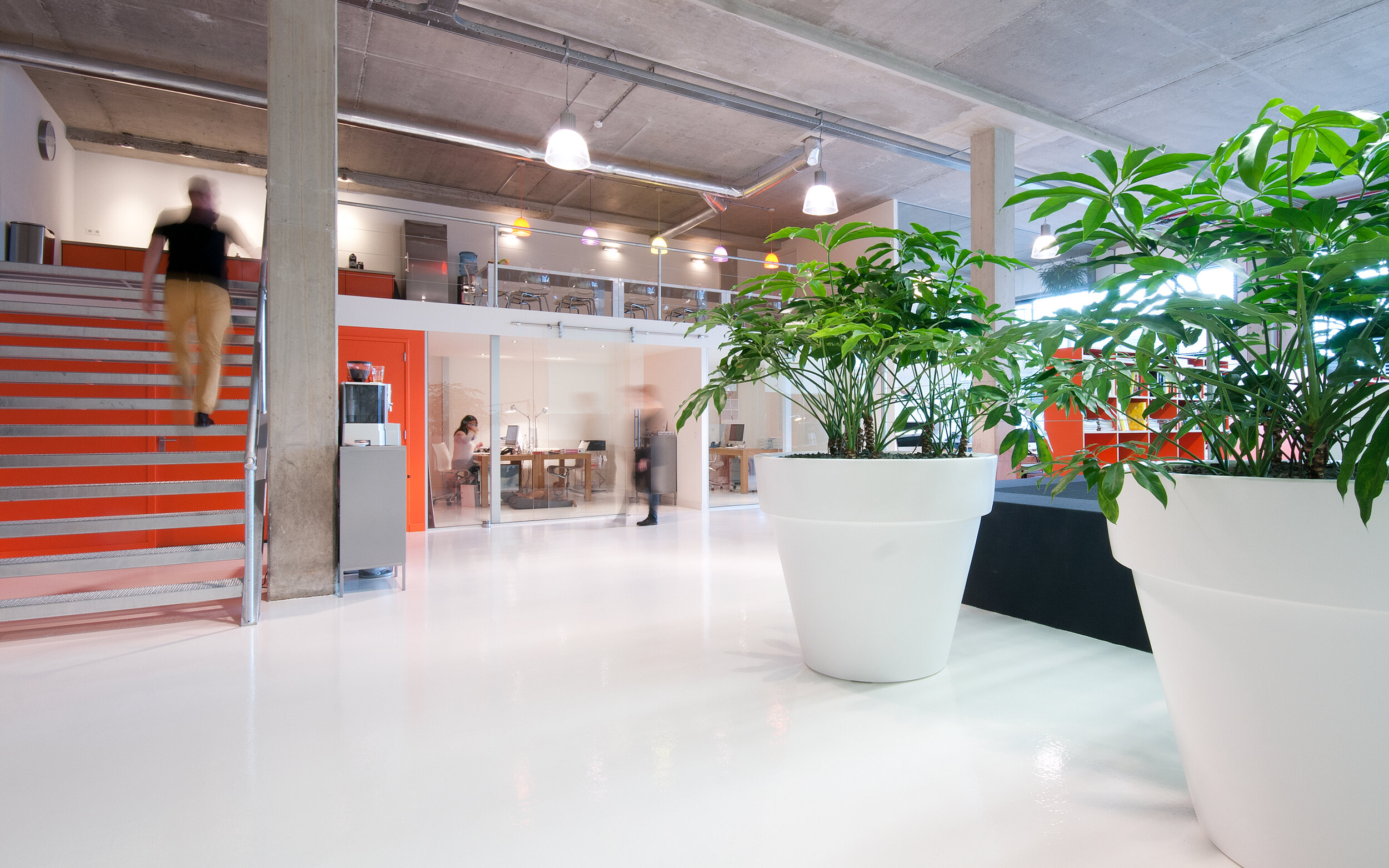 Workspaces Den Haag Labs 55 - interieurontwerp en inrichting