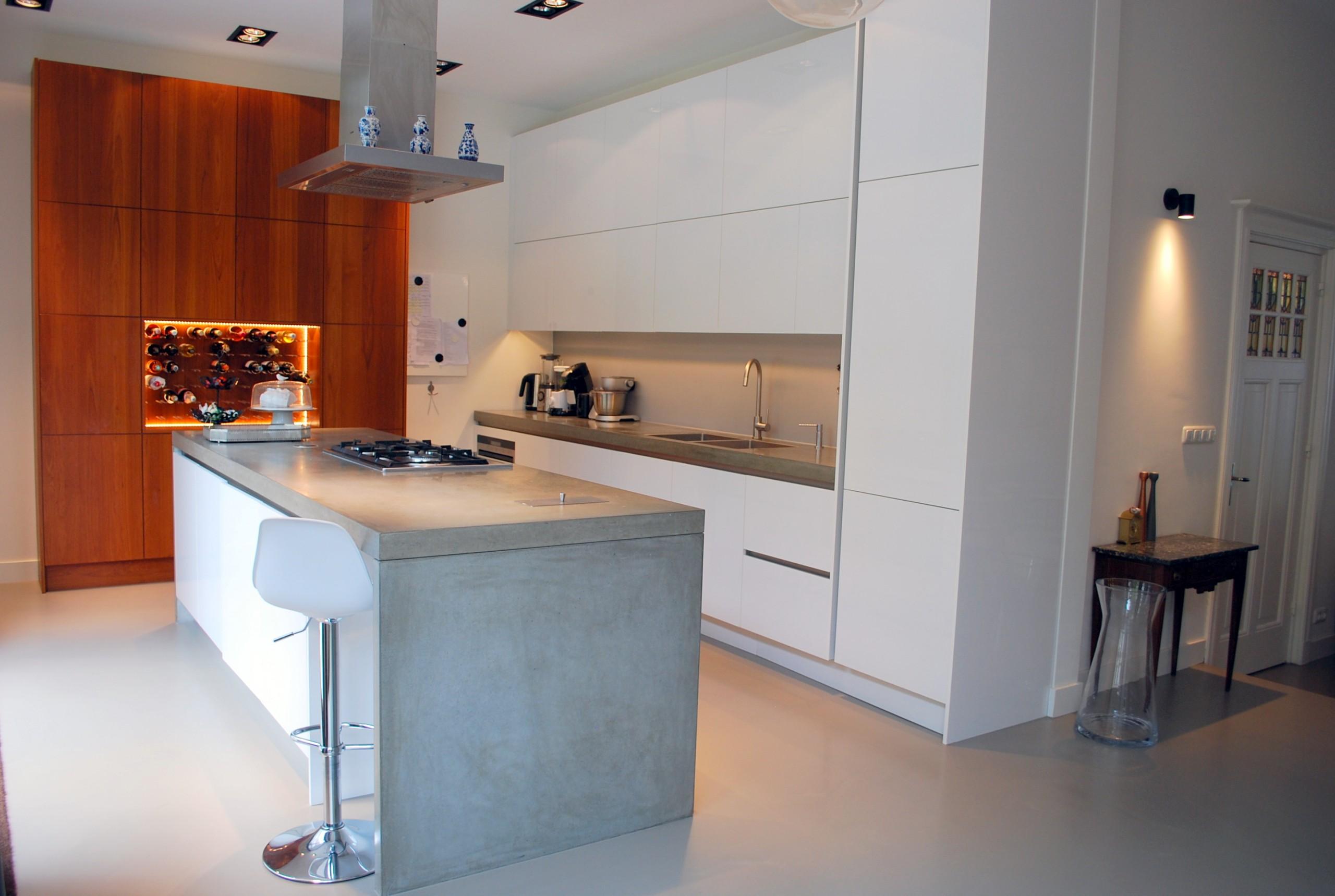 Ontwerp keuken herenhuis Den Haag