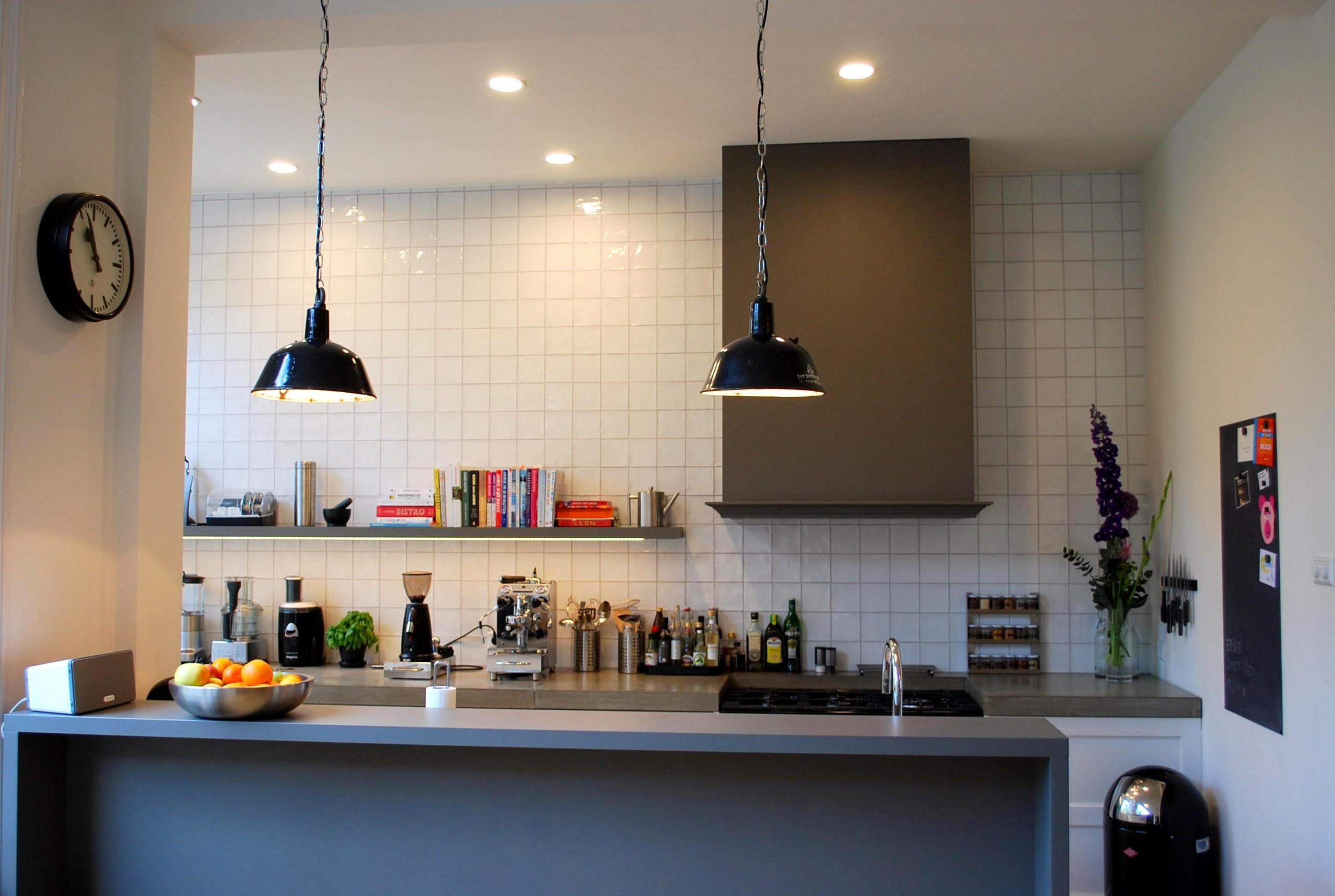 Styling keuken, herenhuis Den Haag